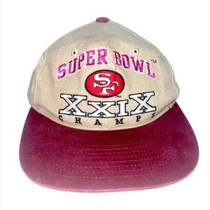 vintage San Francisco 49ers super bowl xxix hat